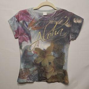 """Jansport """"Aloha"""" Women's Multi Color Medium Top"""